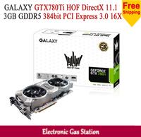 GALAXY GTX780Ti HOF NVIDIA GTX 780Ti 3GB GDDR5 384bit DirectX 11.1 DisplayPort 2880SP Desktop Graphics Card