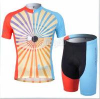 Bike Cycling Clothing Bicycle Wear Suit Short Sleeve Jersey + (Bib) Shorts S-3XL  CC1024