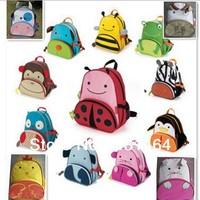 lowest price! Hot children zoo backpack cute kids cartoon animal school bag kindergarten satchels mochila bolsas
