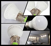 10Pcs/lot E27 SMD 2835 Led Light Bulb 3W LED Bulb Lamp 210V-240V 270ML White /Warm White Led Bulb Q15