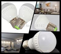 500Pcs/lot Led Lamp E27 AC210V-240V 3W SMD2835 LED Bulb Lamp White/Warm White Energy Saving Led Light Lamps Q15