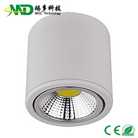 Free shipping(2pcs/lot) 12w led down light AC12V solar 1080lm 3 years warranty Led 12w down light
