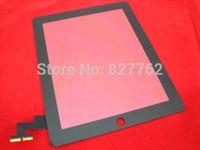 Touch Screen Digitizer Tactil Ecran Pantalla for Apple iPad 2 iPad2 Gen ~ Black Free Shipping