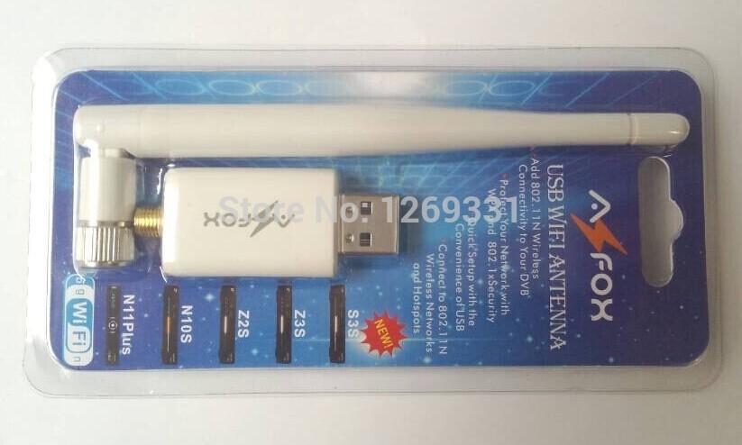 Wholesale!15pcs USB wifi wireless antenna AZFOX USB WIFI for Openbox X3 X5 azfox z3s z2s n10s n11 Skybox F3 F4 F5 M3 free ship(China (Mainland))