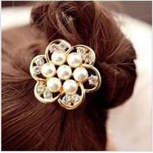 Fashion charming big flower hair band hair clip hair jewelry!   JWD12