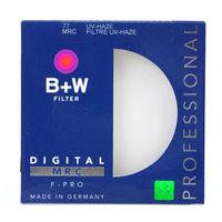 Original Brand B+W Filter 77mm UV-HAZE Digital MRC F-PRO Ultrathin Protective Multi Coated UV Filter Professional Brass Ring
