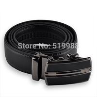 5 pcs/lot New Brand Fashion Luxury Men male Leather Belt genuine leather belt automatic buckle metal plate men Belts for men