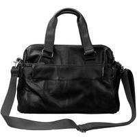 2014 fashion briefcase men's travel bags tactical shoulder bag genuine leather handbag for who travel on business