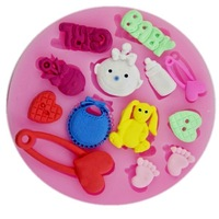 Free shipping Factory price silicone small 9cm cake tool  molde de silicone mold mould,cake decorating tools