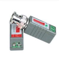 Coax CAT5 Camera CCTV Passive BNC Video Balun to UTP Transceiver Connector 5 pairs/Lot