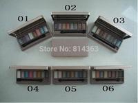 New Eye Shadow 9-Colors Makeup the earth color Eye Shadow High Quality Makeup Eyeshadow Free shipping!(6pcs/lot)