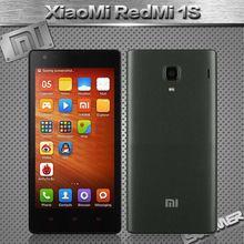 Оригинал Xiaomi красный рис Hongmi 1 S сотовых телефонов 4.7 » IPS редми WCDMA четырехъядерных процессоров Core1GB RAM 8 ГБ ROM 8mp две сим-карты андроид мобильный телефон