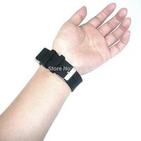 Brand new 22mm Black Silicone Rubber Strap Waterproof Sport Wrist Watch Band Super Cheap