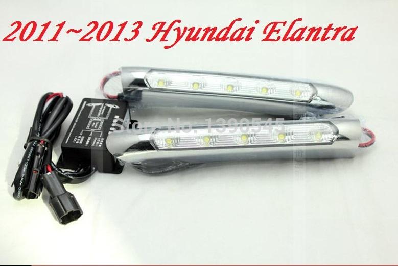 Дневные ходовые огни ! 2011 Hyundai Elantra HP , 2 /set + , 15W 12V, 6000K, дневные ходовые огни hyundai ix35 2010 2pcs set 15w 12v 6000k