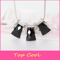 LS12 fashion Necklace Vintage Style for women girl female Choker chain white and black Jewely