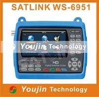 Satlink WS-6951 LCD Screen digital satellite finder lcd display See larger image Satlink WS-6951 LCD Screen digital satellite