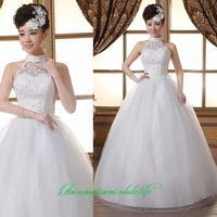 2014 sweet vintage bandage tube top wedding dress princess bride wedding dress vestido de novia vestido de noiva 080