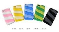 C507 Cotton Candy Color Marshmallow spun sugar HOCO Soft Silicon Silicone Back Case Cover for iPhone 5 5G 5S TX4A46