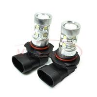 9006/HB4 High Power 50W Fog Light Headlight Driving Daytime Running Light Samsung LED Chip Lamp Xenon White DC 12V-24V 2pcs/lot