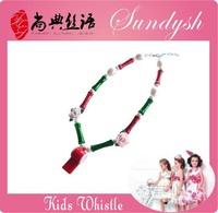 Fantastic Children Whistle Pendant Necklace Kid Jewelry