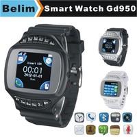 "Free Shipping Watch Phone GD950 GSM 1.44"" Touching Screen Smart Watch MP3/MP4 Support WAP GPRS Camera FM Micro SD card"