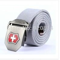 canvas strong buckle belt for women unisex military belt Army tactical fashion belt men top quality men strap