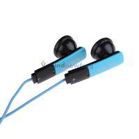 Blue 3.5mm Stereo In-ear Earphone Headphone for iPhone iPod Samsung MP3 V3NF