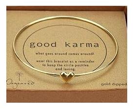ns3 Hot fashion sweet peach heart wishing Love bracelets gold bracelets for women jewelry free shipping