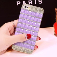 High Quality Luxury 3D Bling Bling Diamond DIY Rhinestone Back Case For iphone 5 5s Free Shipping 1pcs