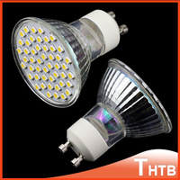 GU10 LED 3W 100-220V Warm white / Cold white 3528SMD 48 LED Spot Light LED Bulb Lamp Energy Saving 400LM 3200K / 6500K