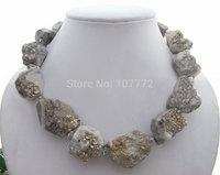 Natural 20x32MM Pyraite Rough Necklace  +free shippment