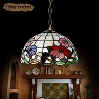 "2014 New Modern tiffany"" Pendant lights Lighting Lamps Baroque Parlor Chain Dining room Light lamp E27 Socket for Home 100-240V"