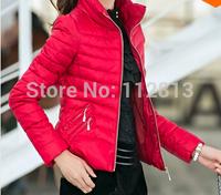 Winter Women's Coats Casaco Feminino Inverno 2014 Slim Office Epaulet Zippers Ladies Coat Casacos Plus Size Free Shipping