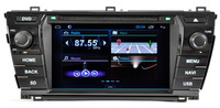Car DVD for Toyota Corolla 2014 with Pure android 4.1 dual Core CPU:1G RAM:1G WIFI 3G audio video player Stereo Free GPS map
