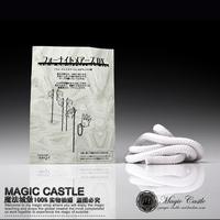 2014 Sale Promotion White Unisex Magnetic Levitation Magic Tricks free Shipping Professional Magic Rope Trick Prop Wholesale