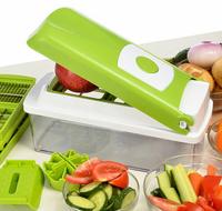 2014 New 12-piece 1 set Multi Vegetable Chopper/Fruit Slicer Kitchen Tools