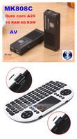 Flying Keyboard + Dure Core MK808C MK809 II A20 Android 4.2 TV Stick 1GB RAM 8G ROM Bluetooth