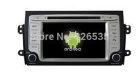 7Inch Pure Android4.1 Car DVD GPS Navigation For Suzuki SX4 2DIN Car Stereo Radio Car GPS Bluetooth USB/SD