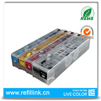 LIVE COLOR 1 set cartridge for HP x551 x451 x476 x576 for HP 970 971 XL permanent chip refillable cartridge for HP970 for HP971