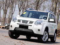 for Nissan X-trail  2012 2013  High quality stainless steel Front Grille Around Trim Racing Grills Trim
