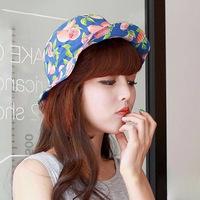 new lady Joker  cloth flat basin caps  summer fashion hats girl's hats