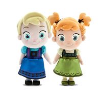 Wholesale 10 PCS/LOT Frozen Toys Frozen Princess Elsa/Anna Cotton Plush Doll Toys Children's Gifts Free Shipping