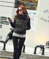 WWY41 2014 New Winter Coat Lapel Short Paragraph Slim Warm Cotton Coat Jacket Women