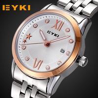 2014 new women dress watches famous brand EYKI rhinestone fashion luxury quartz watch free shipping
