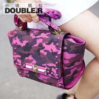 Fashion one shoulder cross-body small bags 2014 women's handbag vintage bag Camouflage rivet bag