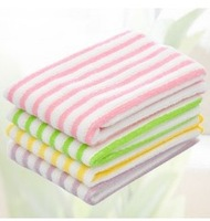 20pcs/lot Eco-Friendly Multi Color Microfiber Kitchen Washing Dish Cleaning Cloth Scouring Pad / Towel 30*30cm Free Shipping