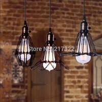 mini black rustic small wrought iron chandelier vintage industrial pendant light