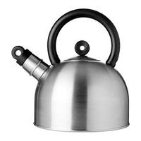 1 piece stainless steel 2L whistle water kettle