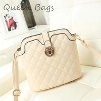 Popular  2015 Famous brand Women casual plaid Shoulder Bag High quality PU leather Handbag Female Brand messenger Bag S4616