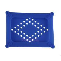 NI5L Silicone 2.5 SATA IDE HDD Hard Disk Drive Skin Cover Case Protector Blue